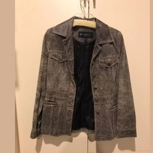 Kenneth Cole reaction leather jacket size small